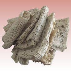 Heavy Crochet Pieces