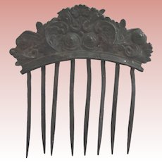 Metal Comb Very Early