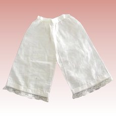 Lace Trimmed Doll Pantaloons