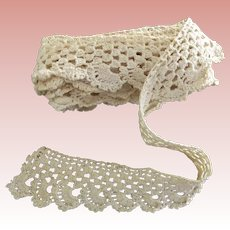 Crocheted Lace Edging