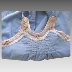 Blue Sunsuit For Toddler ot Baby Doll