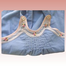 Blue Sunsuit For Toddler ot Baby Doll