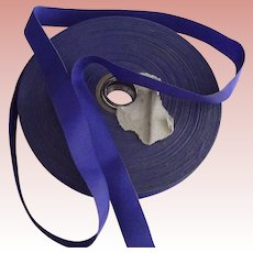 Reel of Royal Blue Grosgrain Ribbon