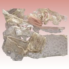 Lace Remnants and Yardage