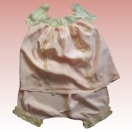 Lady's Baby Doll Flapper Pajamas
