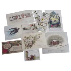 Religious Cards With Psalms