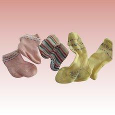 Vintage Doll Stockings