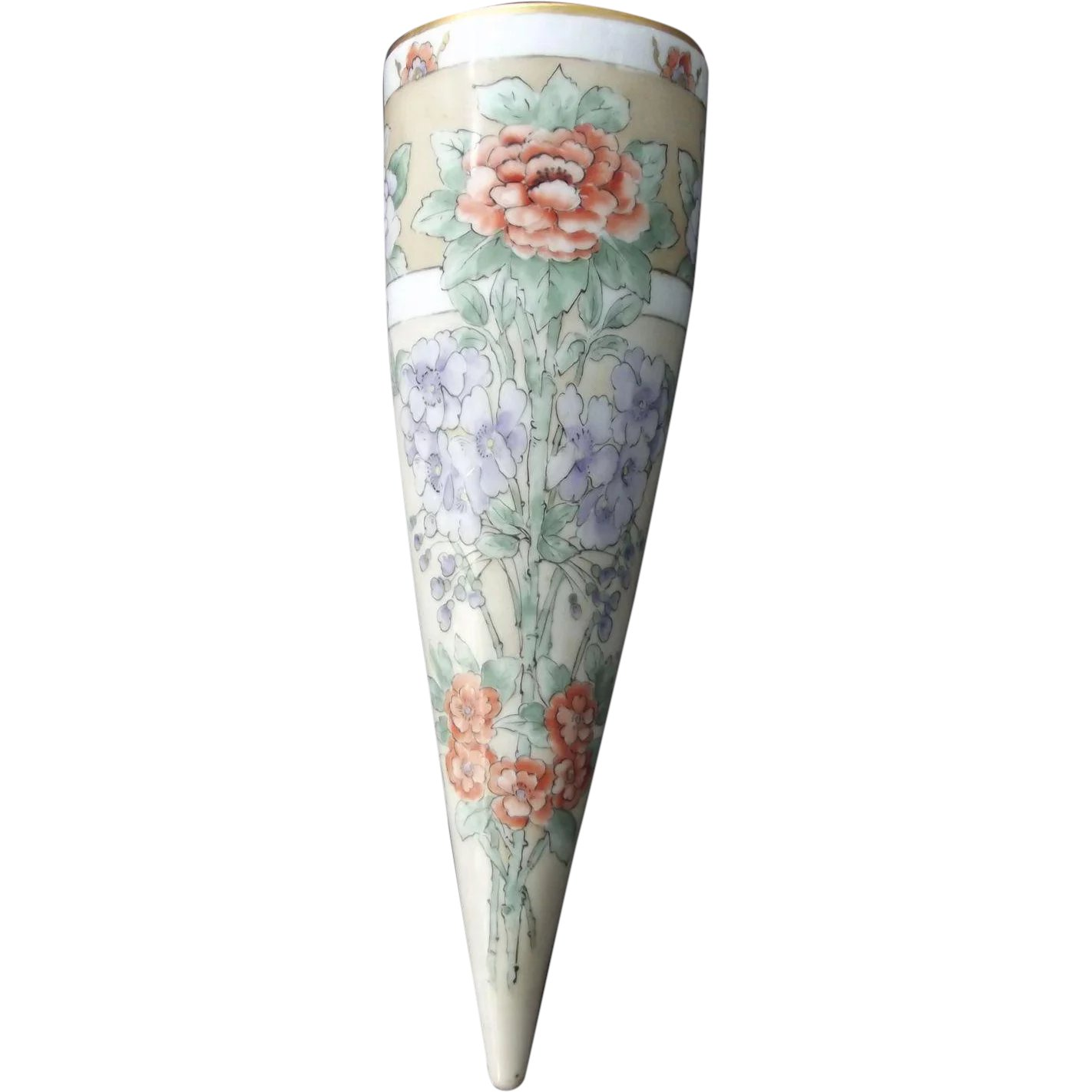 sc 1 st  Ruby Lane & Early Flower Vase For Car : From Here To Victorian | Ruby Lane