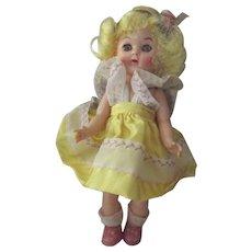 Virga Lollypop Doll In Yellow