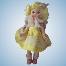 Virga Lollypop Doll In Yellow