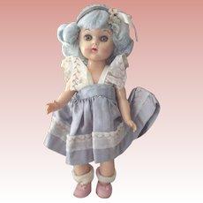 Virga Lollypop Doll In Blue