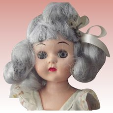 Virga Lollypop Doll In Blue/Gray