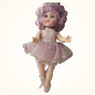 Virga Ballerina With Lavender Hair