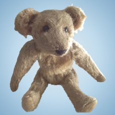 Early Bear With Shoe Button Eyes Small Size