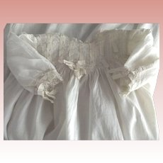Edwardian Doll or Baby Gown