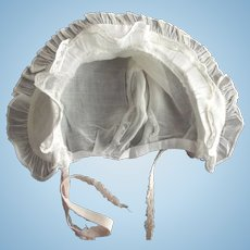 Doll or Baby Bonnet