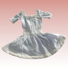 Blue Dress For Small Doll