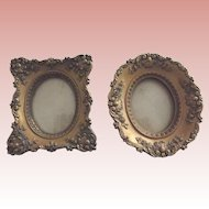 Two Small Syrocco  Frames