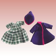 Doll Dress, Coat and Hat For Ginny Type