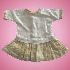 Drop Waist Dress For Small Doll