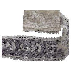 Tambour Lace Piece