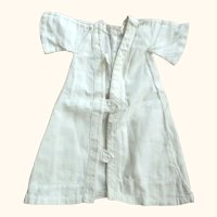 White Robe or Coat For Doll
