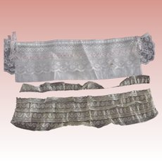 Two Pieces of Trim For Doll Clothes