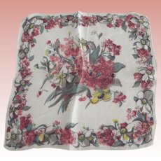 Chiffon Floral Handkerchief