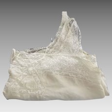 Silk Camisole With Lace
