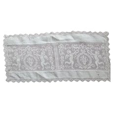 Doily With Putti or Cupids As Is
