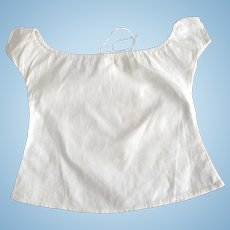 Blouse or Camisole For A Doll