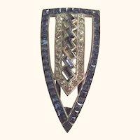 Art Deco Dress Clip