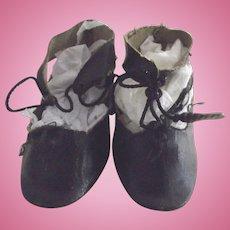 Black Doll Shoes