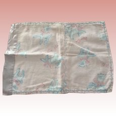 Blanket, Undies, Stockings For 1950's Doll