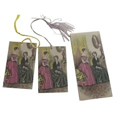 Tally Cards With Godey Ladies