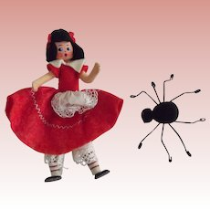 Baps Miss Muffet and Spider