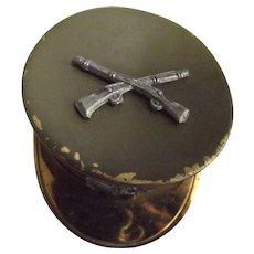 World War Two Sweetheart Pin Shaped Like Army Hat