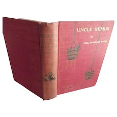 Uncle Remus His Songs and His Sayings 1917