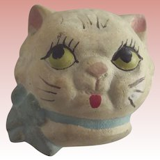 "Plaster ""Dolly Dingle"" Type Cat Head"