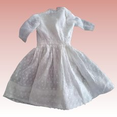 Small White Doll Dress