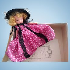 Story Book Doll Western Miss In Box