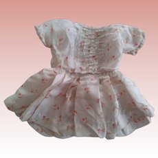 Small Silk Doll Dress As Is