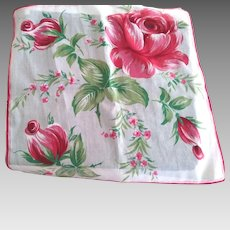Handkerchief With Roses