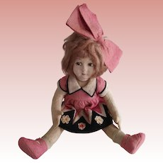 All Original Lenci Type Felt Doll