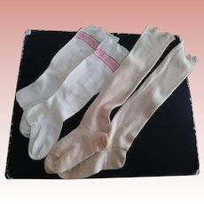 Two Pair of Doll/Child Stockings