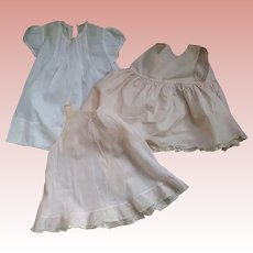 Doll/Baby Dress and Two Slips
