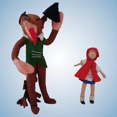 Baps Big Bad Wolf and Little Red Riding Hood