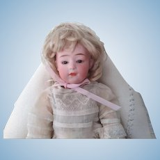 Closed Mouth German  Character Doll