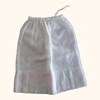 Flannel Petticoat For Doll