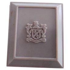 Taupe Vintage Ring Box
